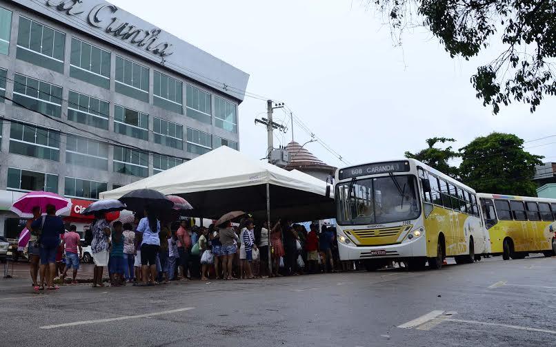 RBtrans orienta o trânsito e o transporte no centro da cidade