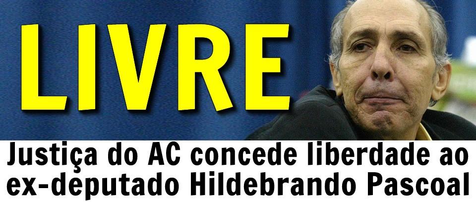 """Apontado como líder do """"Esquadrão da Morte"""", Hildebrando Pascoal vai para o regime semiaberto e deixa presídio"""