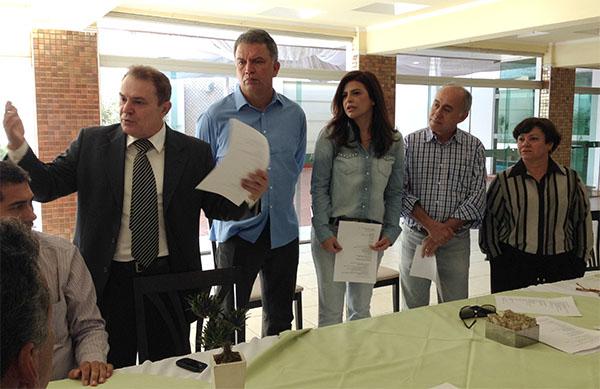 Ato de filiação e apresentação de candidatos do PSC