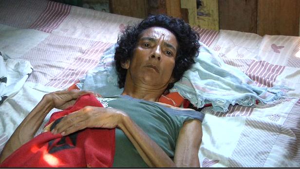 mulher de cama