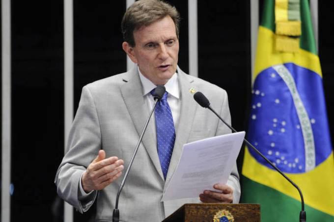 O senador Marcelo Crivella é o candidato do PRB para a prefeitura do Rio (Divulgação/Marcelo Crivella/)