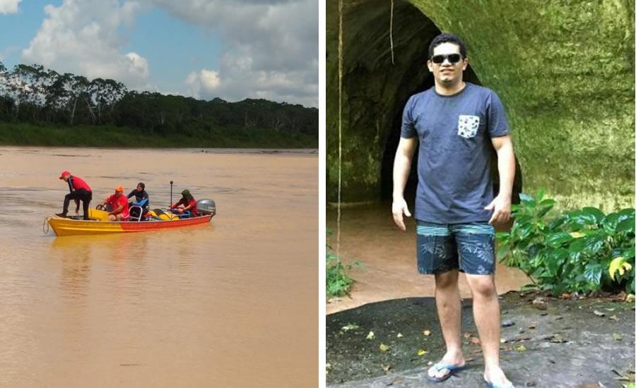 Bombeiros encerram buscas por professor que pulou em rio